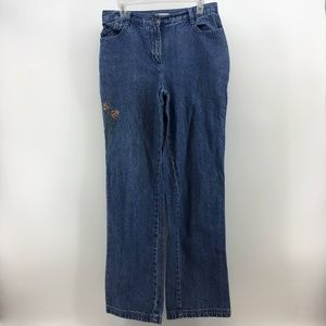 3/$25 Christopher & Banks Flare Wide Leg Jeans